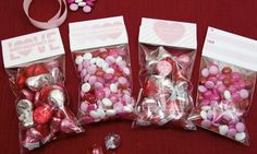 free Valentine's Day party bag toppers