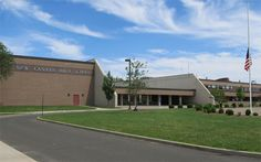 New Canaan High School, the only one in town, holds grades 9th-12th.