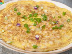 Fish Cake Omelette
