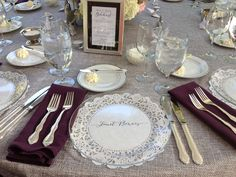 See what Laura Barton (laurambarton) has discovered on Pinterest & plastic plates for wedding reception - Wedding Decor Ideas