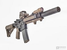 """AR15 10.3"""" Mk18 SBR with an AAC M4-2000 and EOTech EXPS-2"""