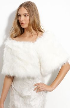 I do like this faux fur stole.