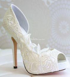 Zapatillas De Novia On Zapatos Bridal Shoes And Swan