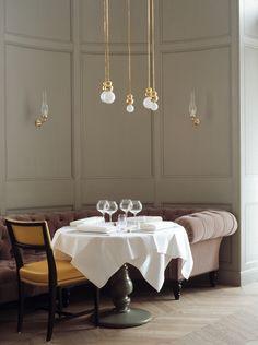 Stockholm's Matsalen restaurant, designed by Studioilse. Photographed by Lisa Cohen