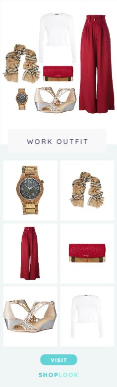 Burgundy_Breeze created by leivie        on ShopLook.io perfect for Work. Visit us to shop this look.
