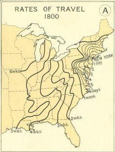 Evolution de la durée des voyages aux USA evolution temps voyage etats unis 01 530x700