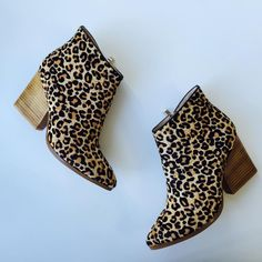 Style: Floyd Colour: Leopard & Tan Brand: Freelance Shoes