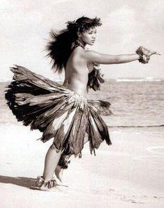 Ancient hula.
