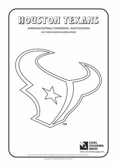 Cool Coloring Pages - NFL American Football Clubs Logos - American Football…