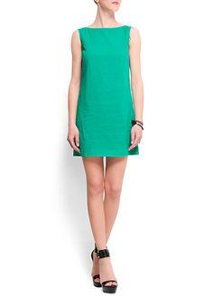 Vestido recto algodón   ref. 61439575 - Gallo | 17,99€ (350K)