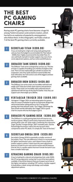 A look at 7 of the best pc gaming chairs currently available. Mixed Dining Chairs, Blue Dining Room Chairs, Outdoor Tables And Chairs, Outdoor Lounge Chair Cushions, Dining Chair Slipcovers, Modern Dining Chairs, Pc Gaming Chair, Gaming Setup, Game Room Chairs