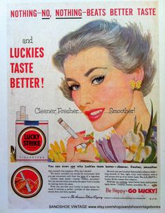 Vintage Advertisements, Vintage Ads, Mad Men Party, Vintage Cigarette Ads, Couple Shower, Girl Smoking, Man Birthday, Old Toys, The Past