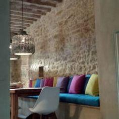 BioMalta RAL 7010 Grigio Tenda: Sala da pranzo in stile in stile Rustico di Marcello Gavioli