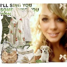 """i'll sing you something;;"" by alwaysunforgetablenoelle on Polyvore"
