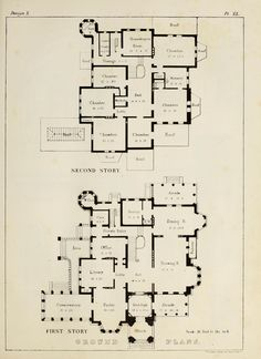 Plans for a 'Norman Style Villa' The Plan, How To Plan, Minecraft Houses Blueprints, House Blueprints, Dream House Plans, House Floor Plans, Architectural Floor Plans, Architectural Drawings, Mansion Plans