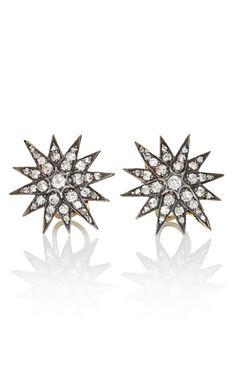 Fred Leighton Diamond Star Earrings