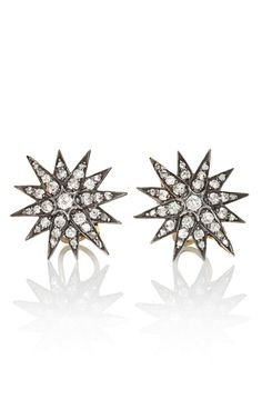 Fred Leighton Diamond Star Earrings