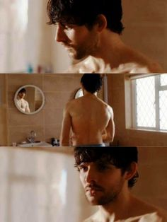 This guy literally made me go from beaming cuz he's shirtless to crying cuz he's crying within the space of like 2 seconds. That's the talent of Colin Morgan
