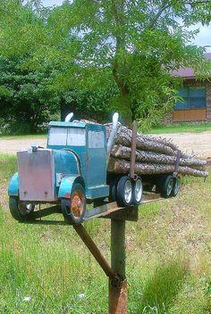 Mail box, rural Arkansas.
