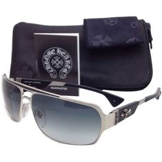 34b96badf725 Pre-owned New Chrome Hearts Sunglasses Mount Bs 65-14 Silver   Black.