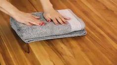 Wie Sie Ihre Handtücher wie ein Profi falten