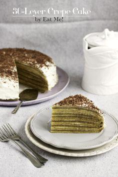 EAT ME!: 30-layer cake pancake / 30-Leyer Crepe Cake