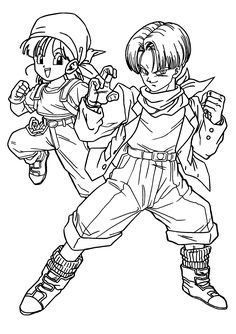 Top 20 Free Printable Dragon Ball Z Coloring Pages Online | Dragon ...