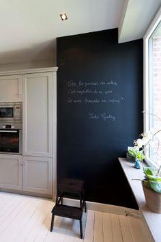 Grand tableau noir - Malegol chez Cuisines Malegol