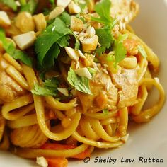 Thai noodles, Coleslaw mix and Quick recipes on Pinterest