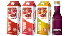 The Simply Great Drinks Company, familiar for its pomegranate juice brand PomeGreat, has rebranded its chilled and ambient range under the Simply Great Drinks logo.