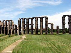 Acueducto de los Milagros, Spain.