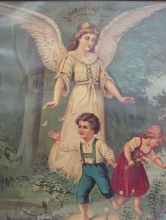 shopgoodwill.com - #17844256 - 025 - Two Framed Guardian Angel Prints - 9/6/2014 8:25:48 AM
