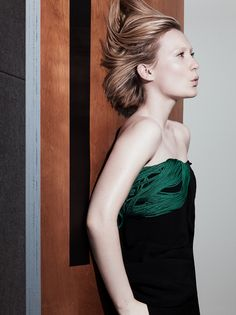 Mia Wasikowska by Craig McDean for Interview Magazine August 2014