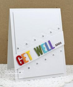 Rainbow Get Well - MFT December Release Countdown, Day Four