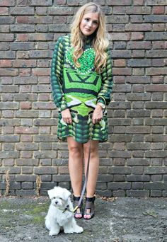 Anna Hart - South Molton Street Style.