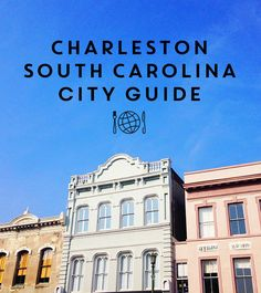 Charleston SC City Guide by Annie Reeves. We aren't a big fan of Husk but enjoy several of the others. Will try a couple of new ones.