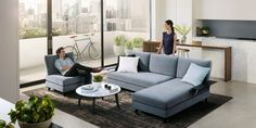 Modular Lounge | Delta Metro | King Living