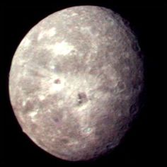 Oberon, moon of Uranus