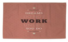 Dreams Take Work Area Rug