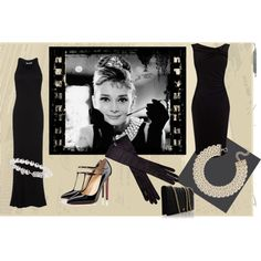 Audrey by snowbride on Polyvore featuring T By Alexander Wang, Coast, Christian Louboutin, Fendi, Ann Taylor, Mikimoto, Ann Demeulemeester, Tiffany & Co. and Hunkydory