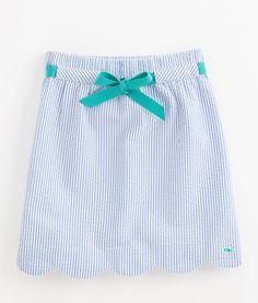 Seersucker Margo Skirt -- get in my closet right now
