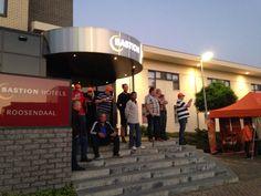 Lekker druk in Roosendaal tijdens de 6e Bastion Hotels driving experience