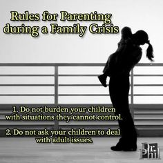 Useful information for parents; i have seen this too many times; parents burdening their children with adult matters~~thanks Dr Phil Amazing Quotes, Great Quotes, When You Feel Alone, Inspirational Verses, Feeling Hopeless, Family Values, Marriage And Family, Parenting Hacks, Trauma