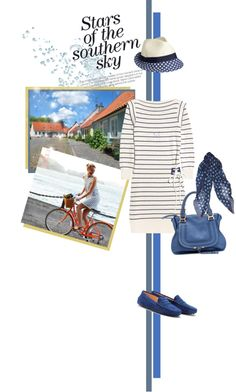 """Strolling and lunching in hometown"" by mrs-box ❤ liked on Polyvore"