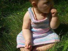 Can't get enough free online knitting patterns? Check out these instructions for How to Make a Rainbow Dress for your child.  This pattern is bright and fun and will look great on your daughter!