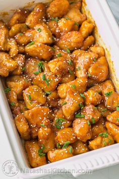 You have to try this Sweet and Sour Chicken Recipe - healthier and tastier than any takeout! @natashaskitchen