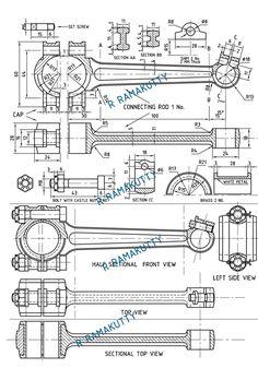 Mechanical Engineering Design, Mechanical Art, Mechanical Design, Autocad, Blueprint Engines, Blueprint Drawing, Interesting Drawings, Automotive Engineering, 3d Cad Models