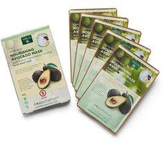 Earth Therapeutics 5-pk. Nourishing Avocado Face Masks #AvocadoMask