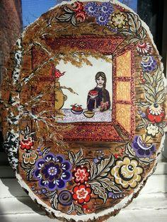 Russian folk art Russian Folk Art, Drawing Tips, Drawings, Artwork, Books, Art Work, Livros, Work Of Art, Book