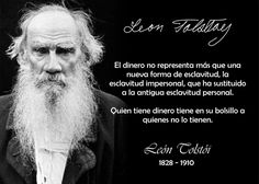 León Tolstoi // Sorprendente Realidad..... Algo que te pone ha pensar